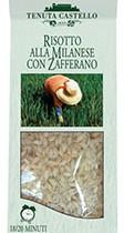 Risotto Alla Milanese Con Zafferano-Tenuta Castello